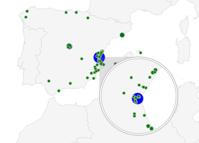 Audiencia Total Geografico
